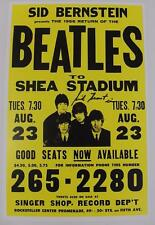 "Sid Bernstein THE BEATLES Signed Autograph 11x17 ""Shea Stadium"" Poster"