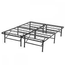 new modern bifold folding platform metal bed frame mattress foundation bf