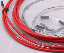 JAGWIRE BRAKE HOUSING HOSE CABLE KIT BMX MTB ROAD BIKE WITH INNER CABLE RED