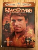 MACGYVER - BOX SET - COMPLETE FIRST (1) SEASON - USED - FREE S/H (M4)