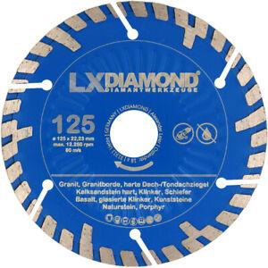 LXDIAMOND Diamant-Trennscheibe 125 mm passend für BAIER BDN 125 Mauernufräse KS