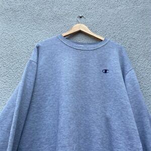 CHAMPION REVERSE WEAVE Mens Grey Sweatshirt Pullover 3XL Cotton VTG
