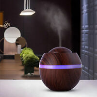 Air Aroma Essential Oil Difusor LED humidificador ultrasónico de aromaterapia