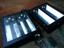 Detailing AutoPaint Booth Light Fixtures 2ft f20 t8 t12 LED glass lens sealed