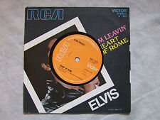 "ELVIS PRESLEY""I'M LEAVIN'- HEART OF ROME- Disco 45 giri, RCA ENGLAND 1971"""