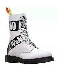 Dr Martens 1490 SXP Sex Pistols Backhand 10-Eye Leather Boots Man US 12 NEW $170