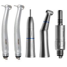SKYSEA Dental Contra Angle Straight Air Motor Fit KAVO + 2pcs Fast Turbine 4Hole