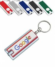50 Personalized Light-up Key Chains with Your FULL COLOR Logo or Message