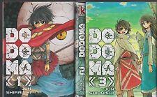 DODOMA tomes 1 à 3 Jun Shiraishi manga seinen SERIE COMPLETE en français