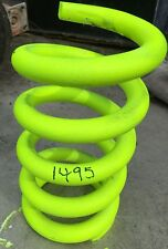 """Front Spring 1495# 5"""" dia. 9"""" height, ground flat one end NASCAR IMCA Racing"""
