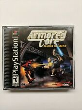 Armored Core Master of Arena Sony PlayStation 1 2000 PS1 TESTED