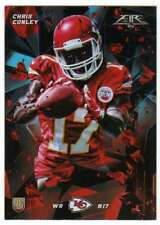 2015 Topps Fire Rookies Silver Foil Parallel RC #13 Chris Conley Chiefs