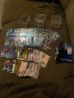 Lot 232 1995-1996 Mixed Years Upper Deck Finest Topps Hockey cards mint (ref:SB)