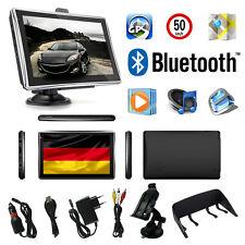 7 Zoll LKW Navigationsgerät PKW BUS Navi Bluetooth GPS POI Blitzer MP3 Video