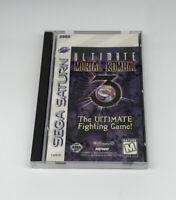 Ultimate Mortal Kombat 3 (Sega Saturn, 1996) Tested And Working Read