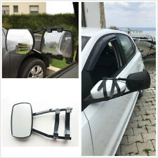 1Pcs Adjustable Clip-on Car Trailer Towing Rearview Extension Mirror Wide View
