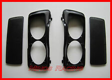 HARLEY TOURING DOUBLE DUAL 6x9 SADDLEBAG SPEAKER LIDS ABS BAGGER AUDIO