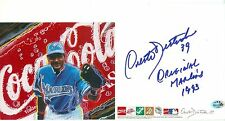 ORESTES DESTRADE AUTOGRAPHED FROM 1993 INAUGURAL GAME COCA COLO SIGNS