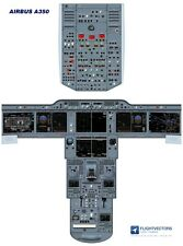 Cockpit - Flight Deck Training Posters 25%-100% - Airbus A350 - from £29.95