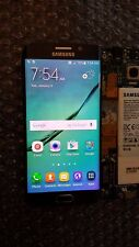 Mint Samsung Galaxy S6 Edge Black G925A LCD Frame Black Digitizer Heavy SBI