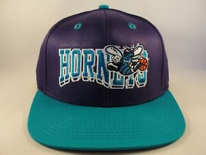 Charlotte Hornets NBA Adidas Retro Snapback Hat Cap