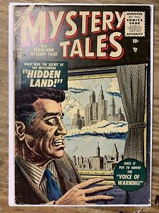"""Mystery Tales #40/Silver Age Atlas Comic Book/Featured on TV Show """"Lost""""/VG-FN"""