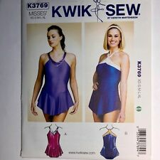 Kwik Sew Pattern 3769 Bathing Suit / Dance Leotard / Wonder Woman Costume  XS-XL