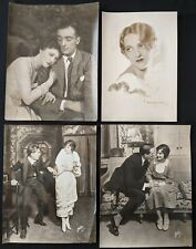 Vintage 1910-20s Theatre Actress Mounted Photo Lot Famous Photographers (10) BB