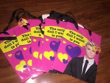 2010 Barbie and Ken Doll Anniversary Valentine Gift Bag Target Set of 6 Bags