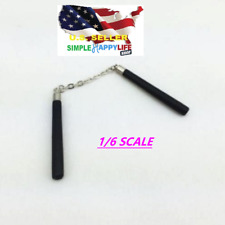 1/6 SCALE Bruce Lee nunchakus model metal & wood black for phicen hot toys ❶USA❶