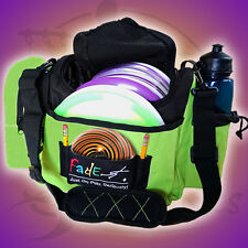 NEW Electric Lime FADE GEAR CRUNCH BOX Disc Golf Bag Holds about 12 Discs FAST