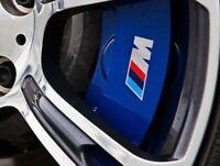 4 Pegatinas sticker brake aufkleber pinzas de freno BMW bandera M 6 cm