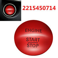 For Mercedes-Benz Push To Start Keyless Go Engine Start Stop Push Red 2215450714