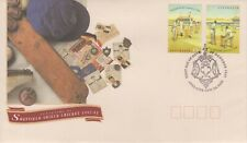 Australia 1992 Centenary Sheffield Shield Cricket First Day Cover Adelaide Gpo