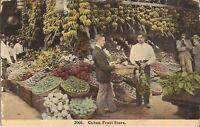 CUBA: Cuban Fruit Store - bananas, pineapple, vegetables
