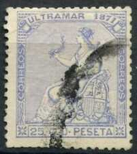 Puerto Rico 1871 SG#49, 25c Ultramarine Used #E10784