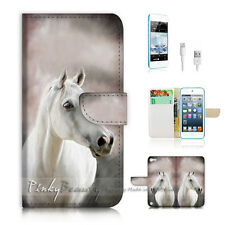 ( For iPod 5 / itouch 5 ) Flip Case Cover! P0583 Horse