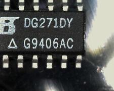 5 X dg271dy Quad SPST Analógico interruptor Siliconix so16