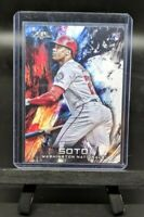 JUAN SOTO RC 2018 Topps Fire Base Rookie Card #181 - Washington Nationals