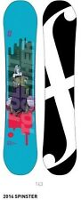 FORUM SNOWBOARD 2014 womens THE SPINSTER 143 snowboard ~BRAND NEW IN BAGGY~!!
