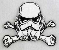 Star Wars Stormtrooper Cross Bones Embroidered Patch