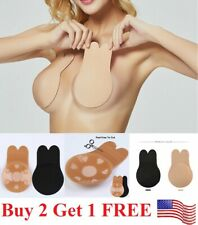 Women Invisible Brassy Tape Breast lifter Lifting Bra Silicone Nipple Cover pad