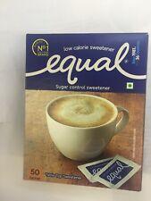 EUAL- Zero calories sweetener and sugar substitutes(50 Sachet) - FREE SHIPPING