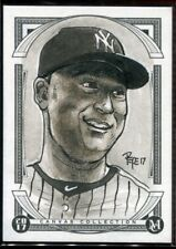 2017 Topps Museum Collection Canvas Collection Originals Derek Jeter 1/1 Pepe