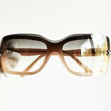 occhiali da sole CHANEL sunglasses vintage oval square mask wrap pink gray 5065