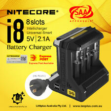 Nitecore i8 Intelligent Universal Battery Charger F Li-ion 18650 RCR123a 14500