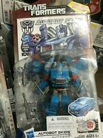 Transformer Generation Deluxe Class Autobot Skids Action Figure IDW 30th Ann.