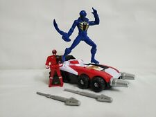 POWER RANGERS!  Super Megaforce DELTA RUNNER ZORD and BLUE RANGER