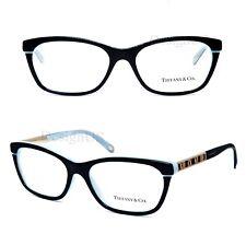 e94862a567 TIFFANY   CO. TF2102 8055 Black Blue 52 16 140 Eyeglasses Rx Italy