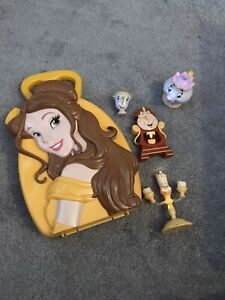 Beauty And The Beast Playset Carry Case With Figures